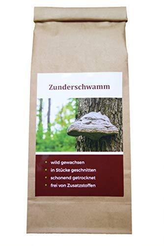 Zunderschwamm-Tee | 100 g-Großpackung | wild gewachsen | geschnitten für die Teezubereitung | voll ausgereifte Fruchtkörper | Vitalpilz | vegan | Tee | Naturprodukt |