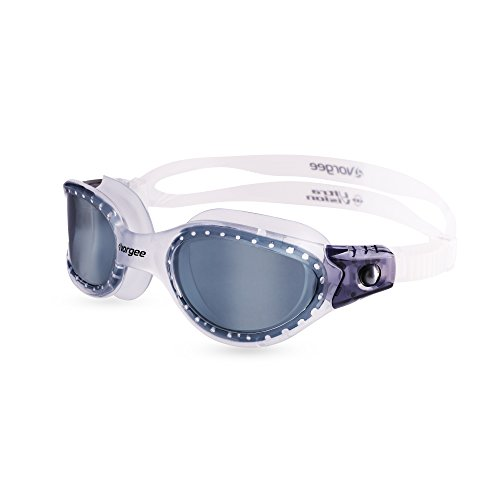 Vorgee Vortech MAX-Tinted Lens Gafas de natación, Unisex Adulto, T.Clear/T.Clear/T.Black, Talla única