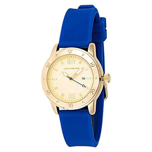 Skechers Reloj Analógico para Mujer de Cuarzo con Correa en Silicona SR6052