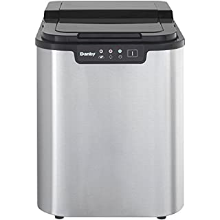 Danby 12Kg Ice Maker, Stainless Steel (B00GDBDPJS) | Amazon price tracker / tracking, Amazon price history charts, Amazon price watches, Amazon price drop alerts