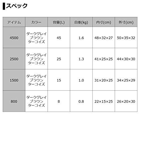 ダイワ(DAIWA)ソフトクーラーボックス(保冷バッグ)ソフトクール2500ターコイズ