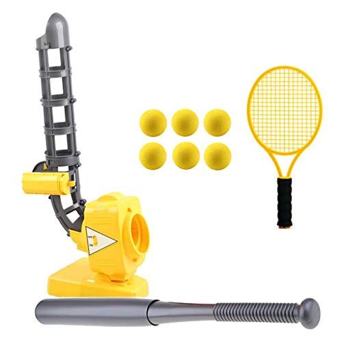 QYWSJ Baseball-oder Tennis-Pitching-Maschine Automatische Ball-Maschine, Training, Sportspiel Lernen, Outdoor-Spielzeug Eltern-Kind-Interaktion Freizeit-Sportgeräte