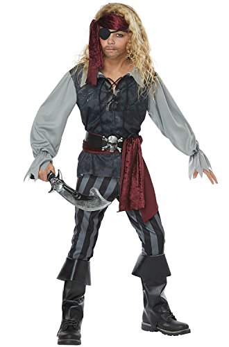 California Costumes Boys Sea Scoundrel Child Costume
