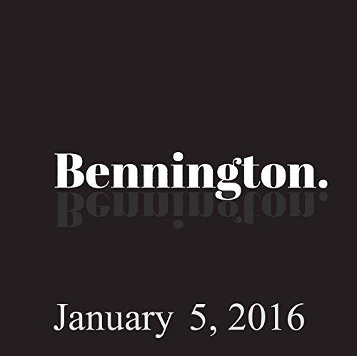 Bennington, January 5, 2016 cover art