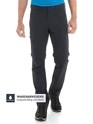 Schöffel Herren Pants Koper1 Zip Off flexible und bequeme Herren Hose, schwarz, 50