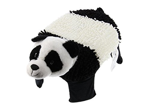 Step UP Pets - Plush kid's step stool pet with removable cover and name tag (Panda Bear)