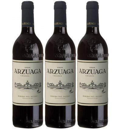 Vino Tinto Arzuaga Crianza - D.O. Ribera del Duero - 3 botellas x 75cl