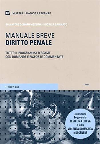 Diritto penale. Manuale breve. Tutto il programma d'esame con domande e risposte commentate