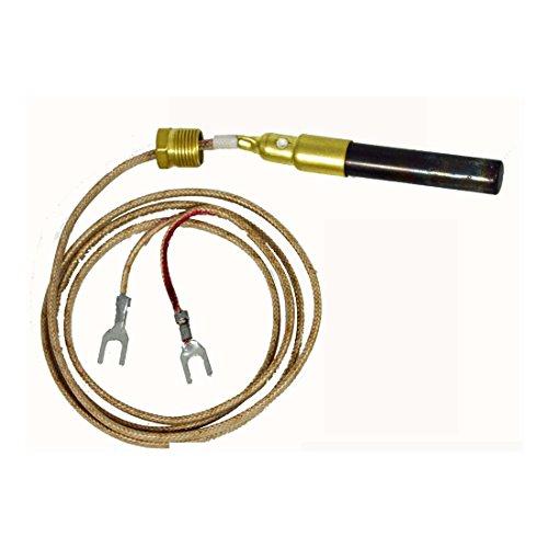 "36"" Fireplace Thermopile for SIT 820 valve NOVA Gas Logs 250 - 750 Millivolt"