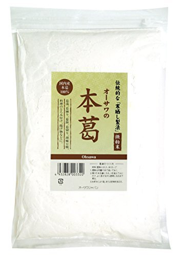 オーサワジャパン 本葛(微粉末)500g ×8セット