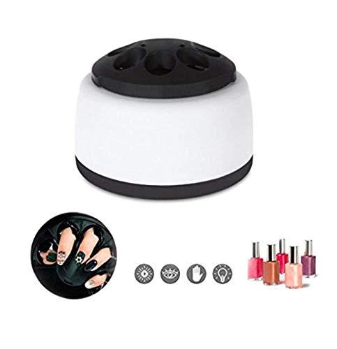 Automatische Dampf-Nagellackentferner UV-Gel-Nagellackmaschine Nagelpflege-Werkzeuge für den Schönheitssalon und den Heimgebrauch (Nagellackentfernung) (Schwarz + Weiß)