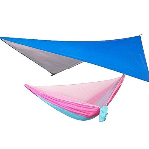 Camping Hammock With Mosquito Net And Rain Fly Tarp Set Canopy Tent Outdoor Camping Mosquito Swing For garden outdoor travel
