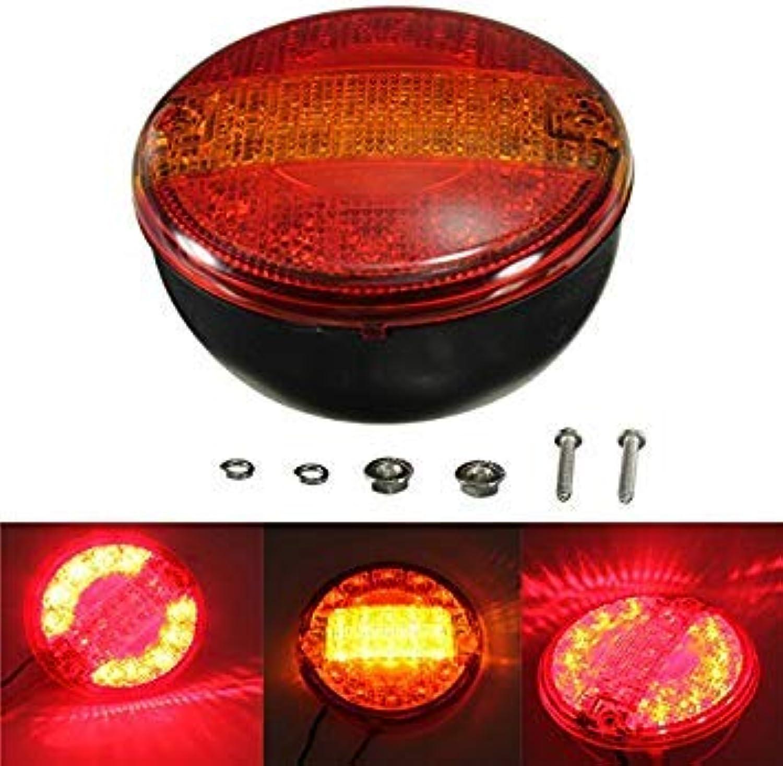 Casavidas Universal LED Combination Rear Tail Stop Indicator Light Round