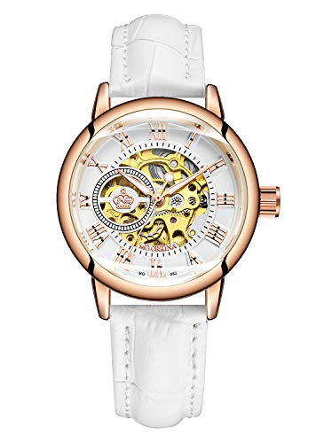 Carrie Hughes MG82W - Reloj mecánico automático de Acero Inoxidable para Mujer