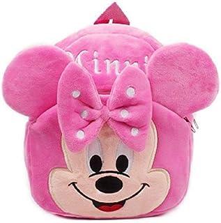 Zoya Toys Cute Kids Backpack Toddler Bag Plush Animal Cartoon Mini Travel Bag for Baby Girl Boy 1-6 Years (Pink-Minnie) fo...