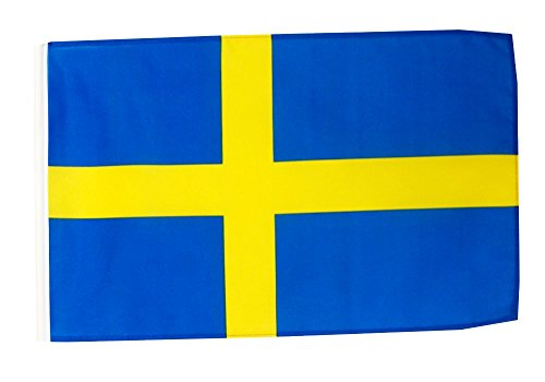 Flagge / Fahne Schweden + gratis Sticker, Flaggenfritze®