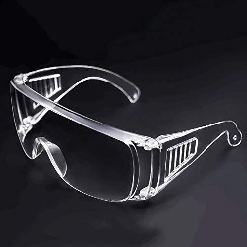 Schutzbrille Für Brillenträger Mit Lüftung Augenbrille Speichel Verhindern Schlagfestigkeit Brillen Wasserdicht Transparent Schutzbrille Für Labor Chemikalien Fachmann Persönlichen Gebrauch Unisex
