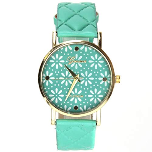 Reloj Geneva Platinum Mujer Flor My-Montre