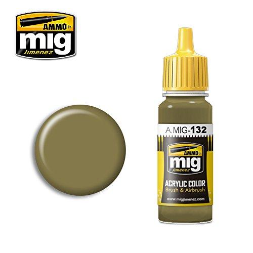 Ammo MIG-0132 prawdziwe IDF piaskowo-szary 73 farby akrylowe (17 ml), wielokolorowe