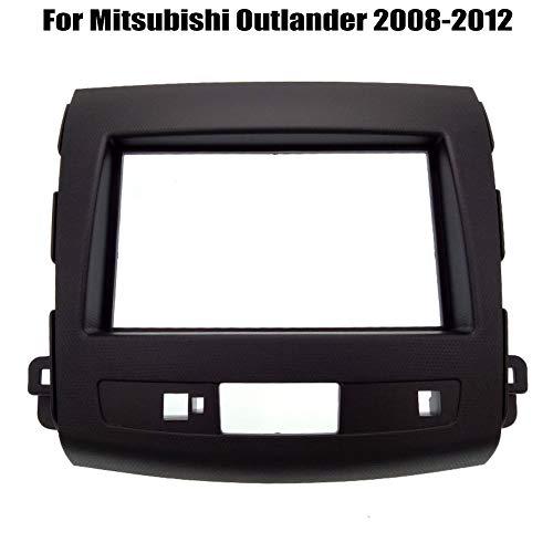 PSOIHGTFS 2Din Radio de Coche Fascia Ajuste para el Panel de Interfaz Mitsubishi Outlander 2008-2012 Auto Stereo en Dash Kit de Montaje del capítulo,173x98mm
