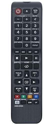ALLIMITY AH59-02530A Reemplace el Mando a Distancia por Samsung BLU-Ray Home Cinema System HT-F4500 HT-H4200R HT-H4500R HT-H5500W HT-H5550W HT-J4200 HT-J4200EN HT-J4500 HT-J4500EN HT-J4500XU