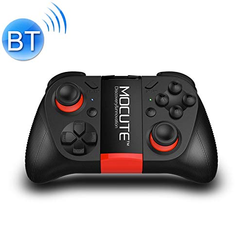 Wireless-Joystick Gamepad, MOCUTE 050 Bluetooth-Gaming-Controller Grip Game Pad Joystick Spiel, for iPhone, Galaxy, Huawei, Xiaomi, HTC und andere Smartphones