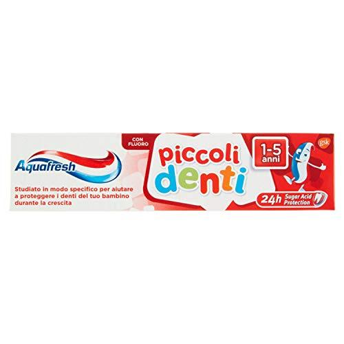 Aquafresh Piccoli denti, dentifricio, 50ml