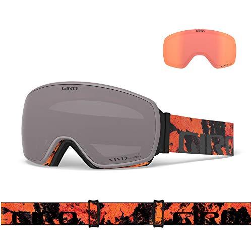 Giro Snow Herren Agent Skibrille, Lava Vivid Onyx/Vivid Infrared, Einheitsgröße