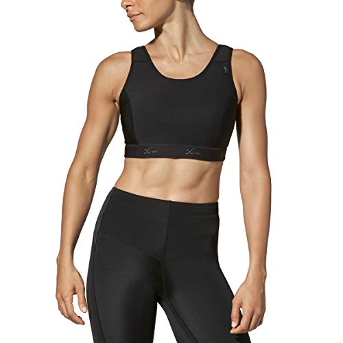 CW-X Women's Stabilyx Sports Bra for Larger Cups Black