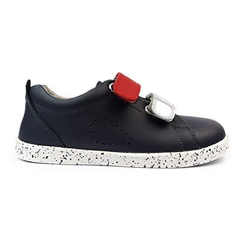 Bobux Grass Court Switch - Zapato infantil, color Azul, talla 39 1/3 EU