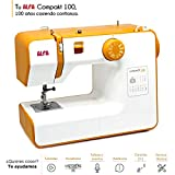 Alfa Compact100 Compakt 100-Compact Sewing Machine, White, 25 x 15 x 32 cm