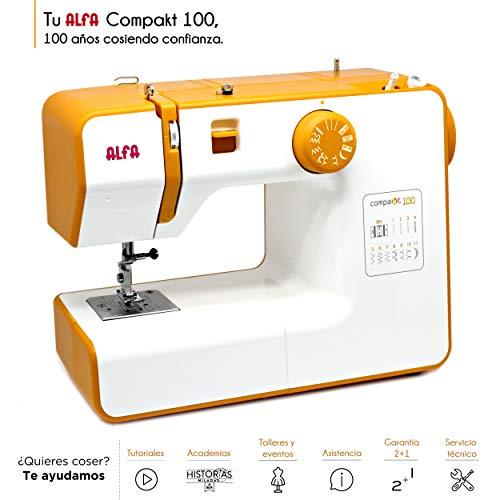Alfa Compact100 Compakt 100-Maquina de Coser compacta,
