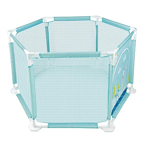 Sale!! LXYFMS Portable Baby Safety Playground Children's Activity Center with Crawling Mat/Ball Heig...