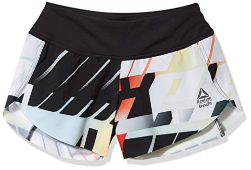 Reebok CrossFit Knit Woven Short, Vivid Orange, S