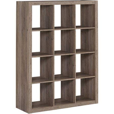 Better Homes and Gardens 12 Cube Storage Organizer, Rustic...
