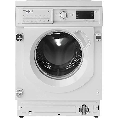 Whirlpool BIWMWG81484UK Integrated Washing Machine, 8kg, 1400 rpm