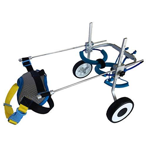 ZH1 huisdier tas huisdier hond rolstoel hond wandelen scooter gehandicapte hond bijgestaan achterbeen oefening auto hond kat huisdier auto fiets, aluminium legering materiaal huisdier fietsen, S