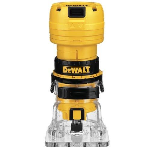 DEWALT DWE6000 4.5-Amp Single Speed 1/4-Inch Laminate Trimmer, Router
