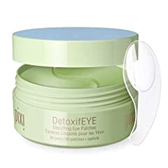 Hydrogel patches fit facial contours De-puffs instantly Gentle enough for sensitive eye area Paraben free For External use only.