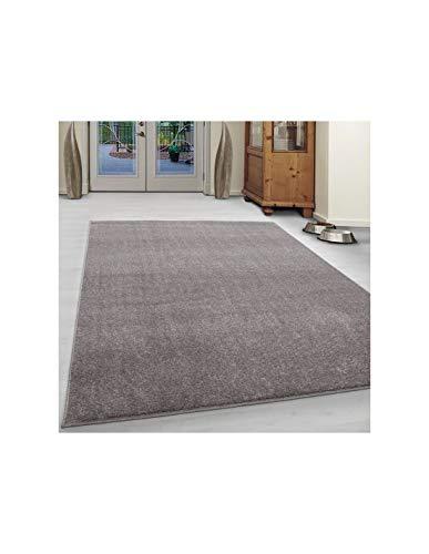 Carpet 1001 Tapis de salon bas moderne - chiné, uni -