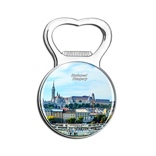 Weekino Ungarn Schlossberg Budapest Kühlschrankmagnet Bier Flaschenöffner Stadt Reise Souvenir Sammlung Starker Kühlschrankaufkleber