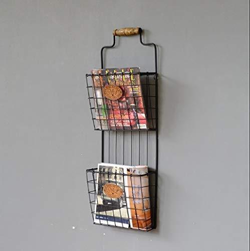 Wandplanken Zwevende planken Retro Stijl Creatieve Stijl Wandplanken (Maat: 33 * 12 * 90cm)