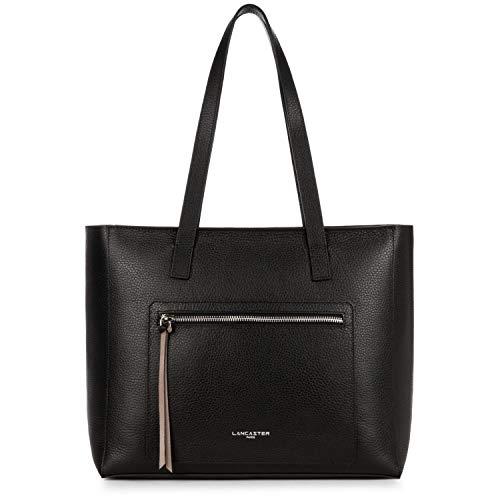 Lancaster Pur&Element Foulonné Shopper Tasche Leder 38 cm