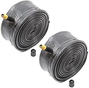 Kenda Inner Tubes Black 26x1.90/1.95/2.10/2.125 Schrader Valve For MTB Mountain Bike Bulk 2 Pack