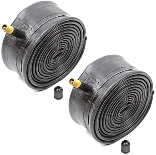 Kenda Inner Tubes Black 26x1.90/1.95/2.10/2.125 Schrader Valve For MTB Mountain Bike, Bulk 2 Pack