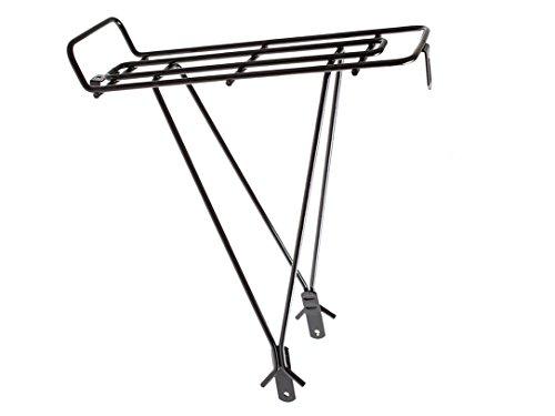 Adjustable 13 x 5 in Black Ventura Economical Bolt-On Bicycle Carrier Rack