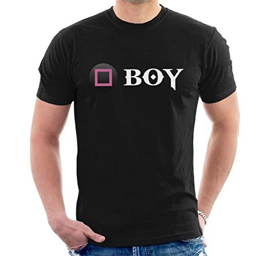 Cloud City 7 God of War Square Button Boy Men's T-Shirt