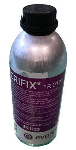Acrifix 1R 0192 Acrylglas-Kleber PMMA Evonik 1-K Reaktions-Klebstoff klar farblos 1R0192 Kunststoffkleber Polycarbonat 49€/kg