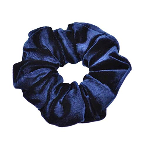 OULN1Y Bandeaux Velvet Elastic Band Donut Hairring Ponytail Holder Scrunchies Tie Hair Rubber Band Headband Women Hair Accessories,4