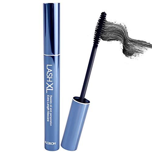 Mascara Black - Length, Waterproof Mascara, Carbon Black Clear Mascara for Eyelashes, Smudge Proof Long Lasting Mascara